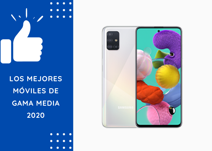 mejores moviles gama media 2020
